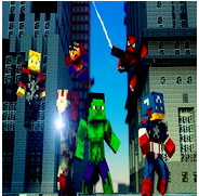 SuperHeroes Ideas Minecraft