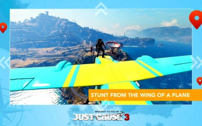 Just Cause 3: WingSuit Tour