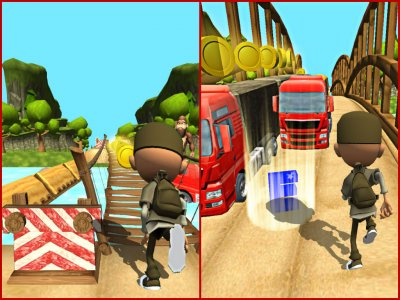 Bus Safari Rush